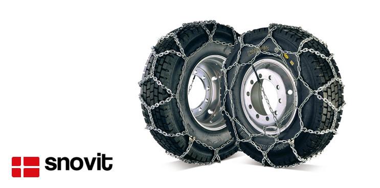 Cadenas snovit para vehículos industriales