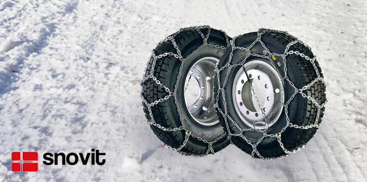 Cadenas de nieve snovit, certificadas por TÜV GS y ONORM