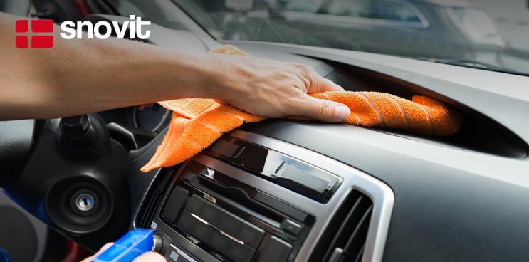 Consejos para limpiar correctamente el coche