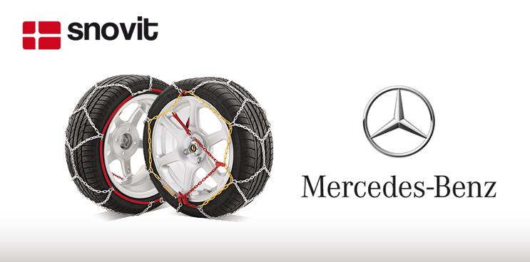 Mercedes España confía en las cadenas de nieve snovit