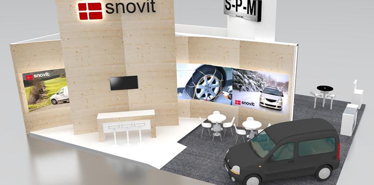 Snovit presentará la gama maxvan en Motortec Automechanika de Madrid