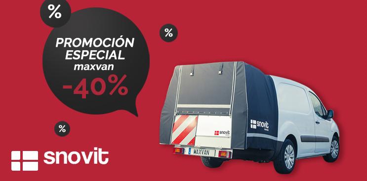 El sistema maxvan para furgonetas al mejor precio