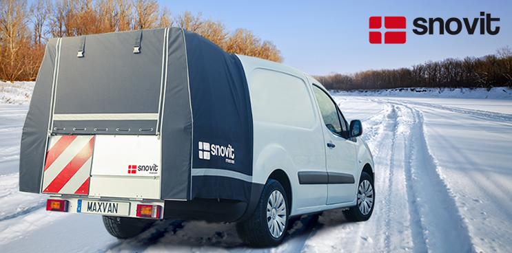 El sistema maxvan también es muy útil en invierno