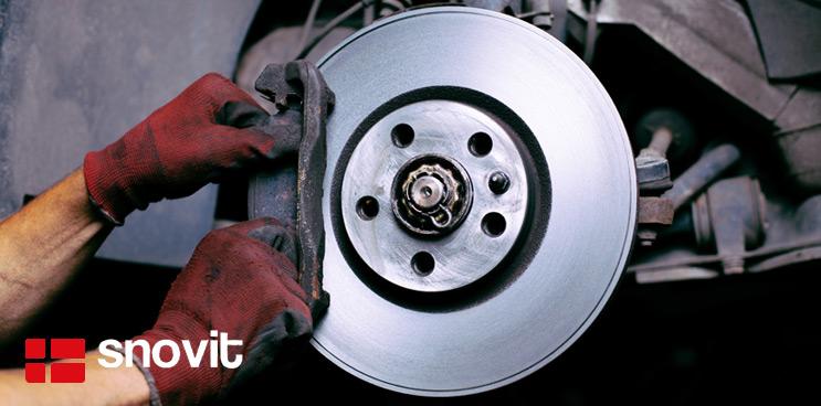 Cuándo cambiar los componentes del freno de un vehículo